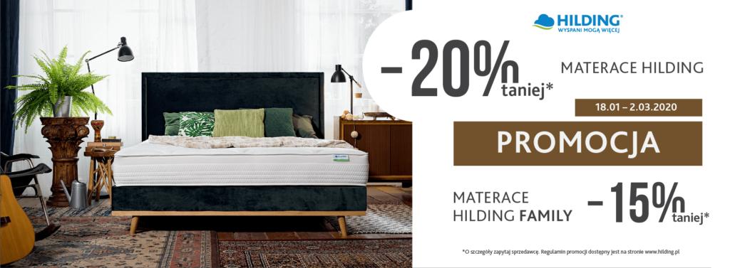 Promocja Hilding 20%