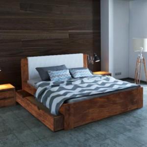 Łóżko drewniane Malmo Plus Ekodom