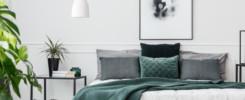 ochraniacz na materac sypialnia